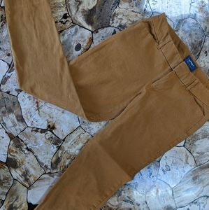 Old Navy mustard yellow pixie pant